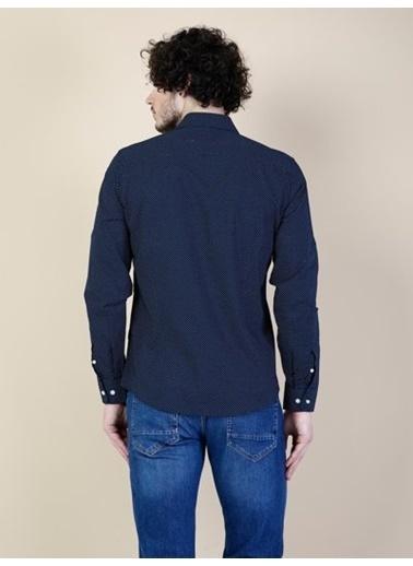 Colin's Uzun Kollu Gömlek Lacivert